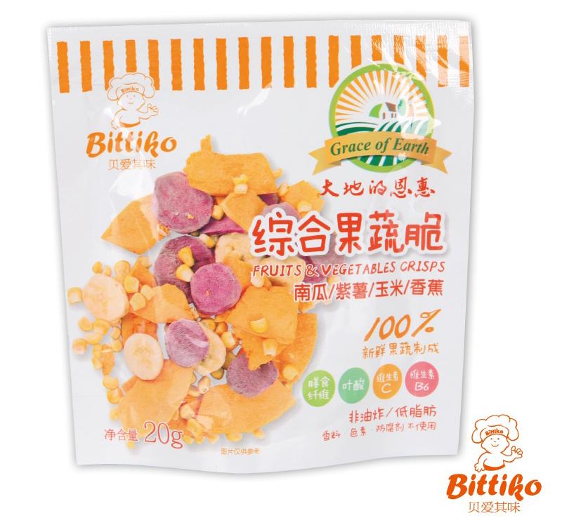 FD加工の果実&野菜チップス